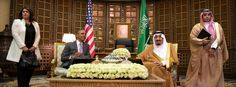 Obama in Saudi-Arabien - culture clash -