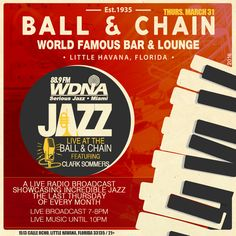 Live Jazz at the Ball & Chain Miami