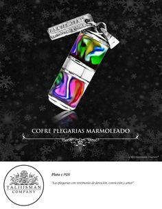 COFRE PLEGARIAS MARMOLEADO  TALIIISMAN COMPANY® ¡Contáctanos! 01800 2867967 www.facebook.com/taliiisman info@taliiisman.com