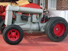Rod tractor