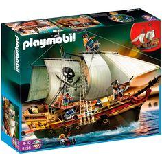 Amazon.co.jp: プレイモービル 海賊 海賊船 5135: おもちゃ