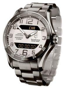VICTORINOX Chrono Classic XLS MT Dream Watches, Luxury Watches, Rolex Watches, Amazing Watches, Cool Watches, Watches For Men, Swiss Army Watches, Victorinox Swiss Army, Watch Case