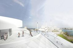 Amagerforbrændingen Energy Plant outside of Copenhagen has broken ground. The plant will incinerate trash and turn it into energy for the city, while also serving as a destination recreation spot and an urban ski resort. Great concept in terms of multipurpose use, but environmental concerns about the release of CO2 have been raised.