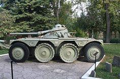 EBR 75 mm (Engin Blindé de Reconnaissance) Old french Armoured Reconnaissance Vehicule