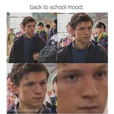 When I'm at school period Funny Marvel Memes, Dc Memes, Marvel Jokes, Avengers Memes, Marvel Avengers, Haha Funny, Hilarious, Tom Holland Peter Parker, Tommy Boy