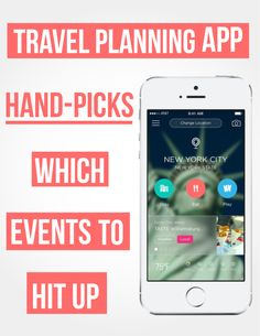 Travel planning app Gogobot can help you find events to attend in your city and will send you updates if the event sells out.