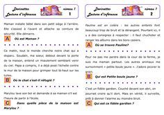 CE1 : Dossier de lecture d'inférences en autonomie Reading Games, Reading Activities, Literacy Activities, Teaching Reading, French Teaching Resources, Teaching French, School Organisation, Core French, French Classroom