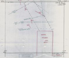 Chart of the projected boat tracks of O13, Orzel, Thames and Salmon, which took O13 and Orzel through a newly laid German minefield 16B. This chart was drawn by the RN and found back in the Dutch archives. http://home.hccnet.nl/f.rienstra/Rienstra/Sub%20Wrecks%20Dogger%20Bank%20.html