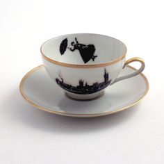 Mary Poppins cup & saucer