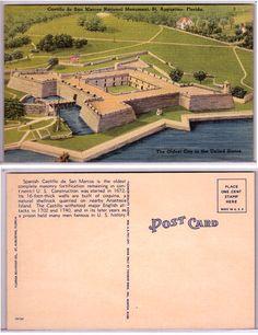 St. Augustine, Florida - Castillo de San Marcos Natl. Monument