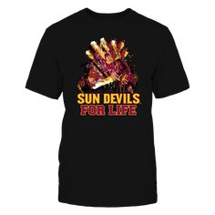 Arizona State Sun Devils - For Life T Shirt