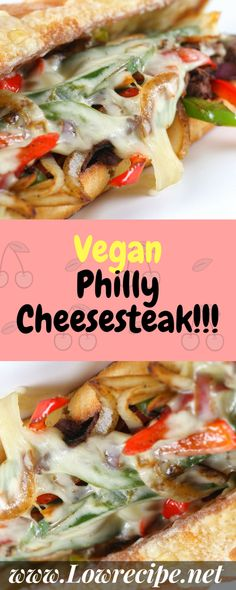 Vegan Philly Cheesesteak!!! - Low Recipe