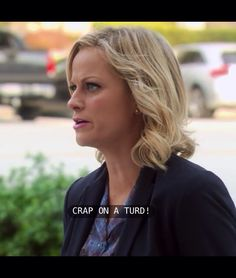Leslie Knope - best at expressions of distress