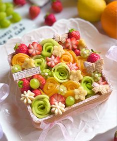 Cake Cafe, Food Garnishes, Bread Cake, Food Decoration, Pastry Cake, Fancy Cakes, Fabulous Foods, Cookie Desserts, Sweets Recipes