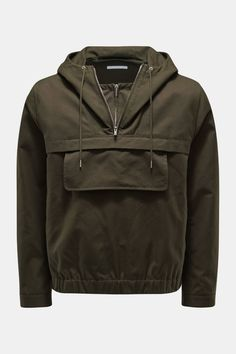 Helmut Lang windbreaker dark olive Helmut Lang, Spring And Fall, Spring Outfits, Windbreaker, Leather Jacket, Dark, Clothing, Jackets, Fashion