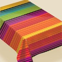 Fiesta Flannel Backed Table Cover