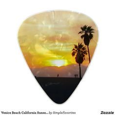 Venice Beach California Sunset Souvenir