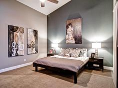 Contemporary Bedrooms from Wonderland Homes on HGTV