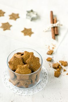 Gluteenittomat piparkakut Christmas Cooking, Margarita, Chili, Cereal, Sugar, Breakfast, Food, Christmas Kitchen, Chile