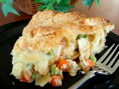 Chicken Dinner Pot Pie ~ Share Best Recipes