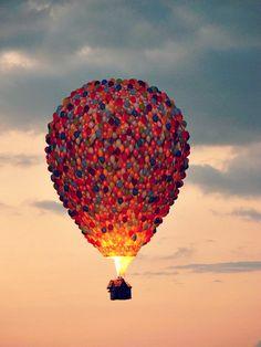 up real art hot air balloon tumblr indieteen house balloons up disney movie