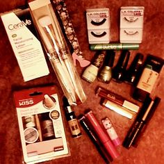 #drugstorebeauty  #minihaul ...well in my case it is  Some #repurchased items and a lot of things that are #newtome  items from: #cerave #loreal  #lacolors  #milani  #jordanacosmetics  #hardcandycosmetics #sinfulcolors  #covergirl l #kissnails  #realtechniqu