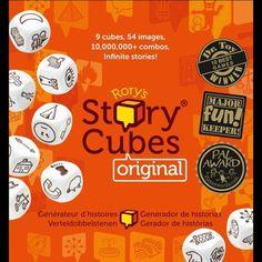10 fichas descargables para usar los story cubes en clases de español de forma diferente