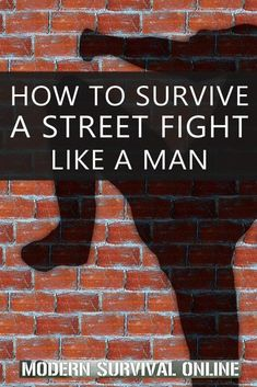 Spontaneous street fights could get you in a world of hurt. or worse. Here's how to avoid and survive them. Urban Survival, Wilderness Survival, Camping Survival, Survival Prepping, Survival Skills, Self Defense Moves, Self Defense Martial Arts, Self Defense Techniques, Best Books For Men