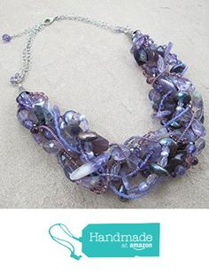 Shades That Vary - Amethyst Multi Strand Necklace with Fluorite, Quartz and Pearls from Shades That Vary https://www.amazon.com/dp/B06WW6W2QQ/ref=hnd_sw_r_pi_dp_2R1WybFBKSFMZ #handmadeatamazon