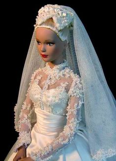 Wedding gown pretty doll couture **+
