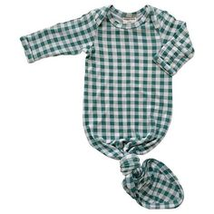 Viscose from bamboo, Spandex Fold-over mitten cuff long sleeves By: SpearmintLOVE Spearmint Baby, Homecoming Outfits, Matching Family Outfits, Best Brand, Future Baby, Baby Love, Gingham, Knots, Kids Outfits