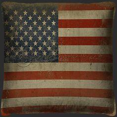 Flag - American Pillow
