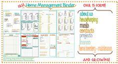 New Bee Homeschooler - Home Management Binder