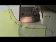 "The Stay Stitch -  The stay stitch is used to support the straight grain on curved edges like necklines, curves on princess seams, armholes, shoulders, at the waistline and other areas that are specified to help from stretching out of shape. The stitch is done right inside the seam line, so if your seams are the standard 5/8""s then sew your stay stitch at about 1/2"" from the cut edge and about 1/8"" from the 5/8"". The stay stitch will help to prevent the fabric from changing shape at the…"