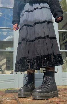 Edgy Outfits, Grunge Outfits, Pretty Outfits, Cool Outfits, Fashion Outfits, Fashion Tips, Hipster Grunge, Grunge Goth, Nu Goth
