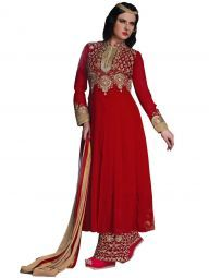 Vivacious Red Color #Whoelsale #Dress #Salwar Kameez #salwar suit collection in #India #dress #Supplier #Manufacturers