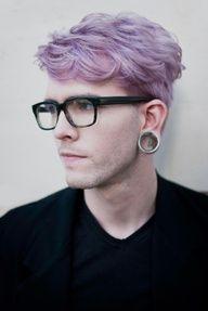 #haircolor #men'shair #piercings feeling this color