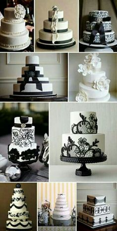 Black and white...classic colours