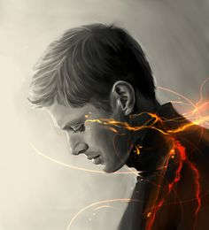 Dean W by ~Bran1313 on deviantART. This is the most beautiful and poignant Supernatural fanart I have ever seen.