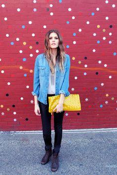 jeans,jeanswear,girl,fashion,black,white,yellow,cool,sexy
