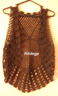 DE MIS MANOS TEJIDOS Y MAS...: Bolero circular tejido al crochet I like.