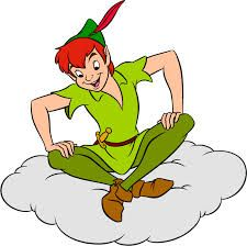 Image result for peter pan sitting