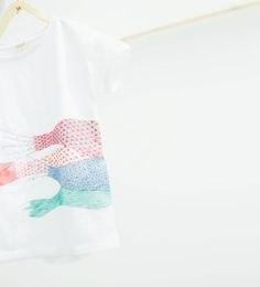 Image 1 of Appliqué T-shirt from Zara