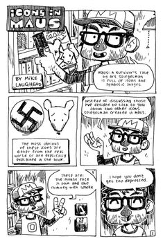 Great Visual Essay on Maus by Art Speigelman, drawn by Mike Laughead