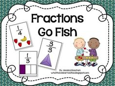 Fractions Go Fish Game