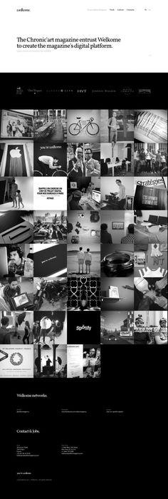 Welkome - Creative Digital Agency - Paris and New York - #Webdesign #inspiration www.niceoneilike.com