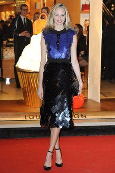 wearing Louis Vuitton   - HarpersBAZAAR.com