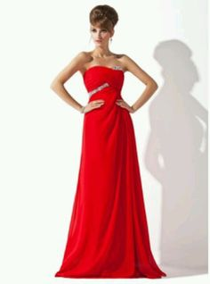 A-Line/Princess Sweetheart Floor-Length Chiffon Evening Dress With Ruffle Beading - JJsHouse Cheap Formal Dresses, Affordable Wedding Dresses, Cheap Wedding Dress, Wedding Party Dresses, Bridesmaid Dresses, Bridesmaids, Prom Dresses Canada, Chiffon Evening Dresses, Wedding
