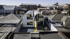 Funded by a non-profit run by a prominent building-supplies company in South Africa, this four-classroom primary school in Mayfair West serves students from the nearby Slovo Park informal settlement in Johannesburg.