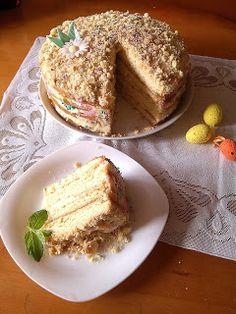 RADOŚĆ KIPIĄCA UŚMIECHEM.: Tort Wielkanocny -  Napoleon!